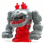 LEGO Minifigure Rock Monster Large Tremorox (Trans-Red)