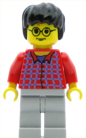 LEGO Harry Potter Minifigure Harry Potter Red Shirt