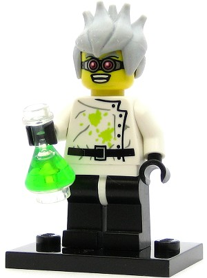 LEGO Collectible Minifigures Series 4 Crazy Scientist