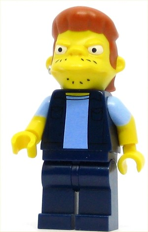 LEGO The Simpsons Minifigure Snake