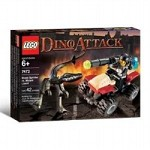 LEGO 7473 Dino Attack Steel Sprinter vs. Mutant Lizard