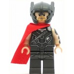 LEGO Super Heroes Minifigure Thor - Red Cape, Helmet (76084)