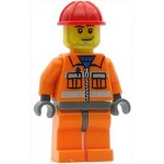 LEGO Town Minifigure Construction Worker