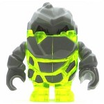 LEGO Power Miners Minifigure Rock Monster Sulfurix