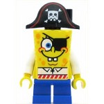 LEGO SpongeBob SquarePants Minifigure SpongeBob Pirate