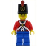 LEGO Minifigure Imperial Soldier II Shako Hat Decorated Blue Legs Female (9349)
