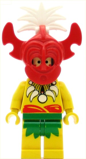 LEGO Pirates Minifigure Islander King Kahuka