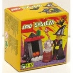 LEGO 2872 Castle Witch and Fireplace