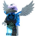 LEGO Legends of Chima Minifigure Vornon - Trans-Light Blue Heavy Armor