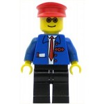 LEGO Train Minifigure Railway Employee 6