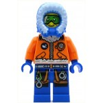 LEGO Town Minifigure Arctic Explorer, Male with Green Goggles
