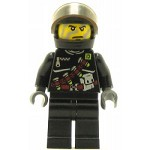 LEGO Dino Attack Minifigure Shadow Chemical Belt Torso