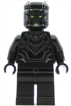 LEGO Super Heroes Minifigure Black Panther (76047)
