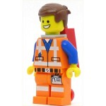 LEGO The Lego Movie Minifigure Emmet with Plate on Leg