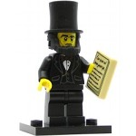 LEGO Collectible Minifigures The Movie Abraham Lincoln
