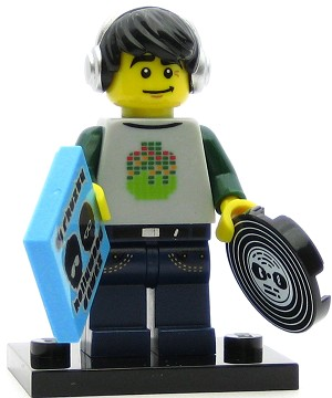 LEGO Collectible Minifigures Series 8 DJ