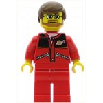 LEGO Town Minifigure Red Jacket