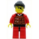 LEGO Ninja Minifigure Robber Brown