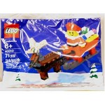 LEGO 40010 Seasonal Santa with Sleigh Building Set
