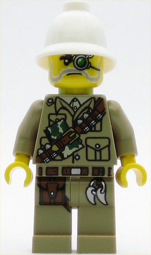 LEGO Minifigure Monster Fighters Major Quinton Steele
