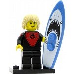 LEGO Collectible Minifigures Series 17 Professional Surfer