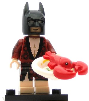 LEGO Collectible Minifigures The Batman Movie Lobster Lovin' The Batman