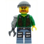 LEGO Monster Fighters Minifigure Jack McHammer