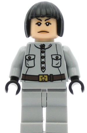 LEGO Indiana Jones Minifigure Irina Spalko