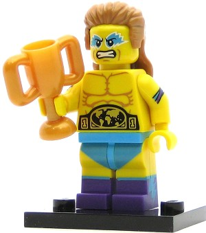 LEGO Collectible Minifigures Series 15 Wrestling Champion