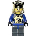 LEGO Castle Minifigure Knights Kingdom II King Mathias