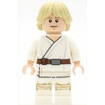 LEGO Star Wars Minifigure Luke Skywalker (Tatooine, White Legs, Stern Smile Face Print)