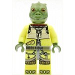 LEGO Star Wars Minifigure Bossk - Olive Green (75167)