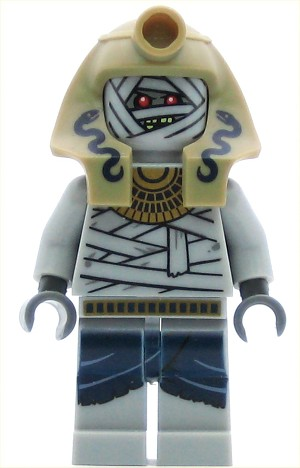 LEGO Minifigure Mummy Warrior #2 (Snake Charmer)