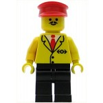 LEGO Train Minifigure Railway Employee 5