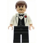 LEGO Indiana Jones Minifigure Indiana Jones White Tuxedo Jacket