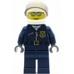 LEGO Town Minifigure Police - City Motorcycle Officer