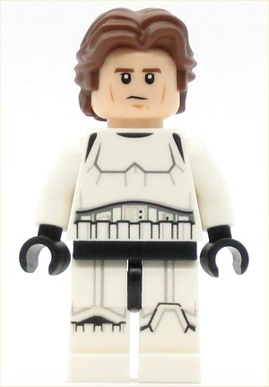 LEGO Star Wars Minifigure Han Solo - Stormtrooper Outfit (75159)