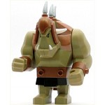 LEGO Castle Minifigure Fantasy Era Troll Dark Tan