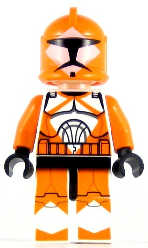LEGO Star Wars Minifigure Bomb Squad Trooper