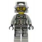 LEGO Minifigure Power Miner Duke Gray Outfit (8191)