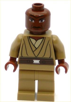 LEGO Star Wars Minifigure Mace Windu Clone Wars