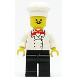 LEGO Minifigure Chef Black Legs Moustache