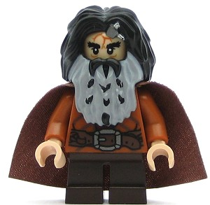 LEGO Hobbit and Lord of the Rings Minifigure Bifur the Dwarf