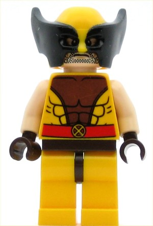 LEGO Super Heroes Minifigure Wolverine (76022)