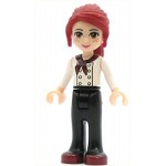 LEGO Friends Minifigure Friends Mia, Black Trousers, White Top