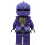 LEGO Minifigure Knights Kingdom II Danju with Gold Pattern Armor Dark Bluish Gray Hips and Helmet