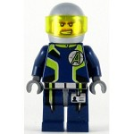 LEGO Agents Minifigure Agent Charge Helmet