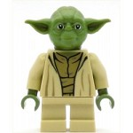 LEGO Star Wars Minifigure Yoda (Olive Green - 75142)