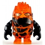 LEGO Power Miner Minifigure Rock Monster Firax Trans-Orange