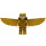 LEGO Super Heroes Minifigure Wonder Woman Diana Prince Gold Wings